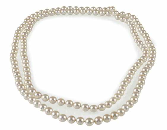 Beautiful Akoya Cultured Pearl Necklace - photo 1