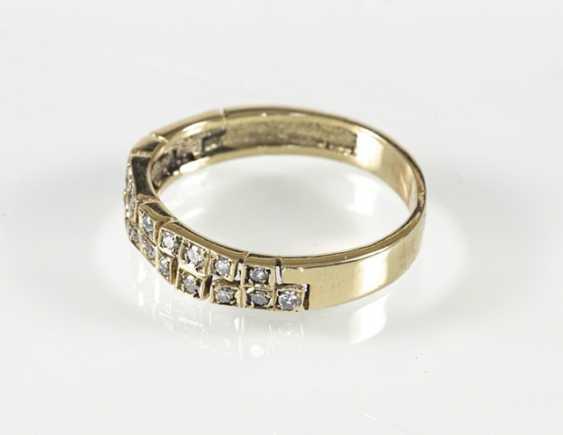 Diamond Ring, Gg, 24 8/8-Diamond - photo 3