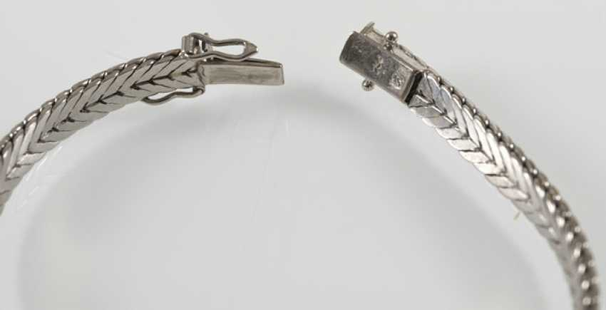 Rubin-Diamant-Armband, 750 Wg - photo 3