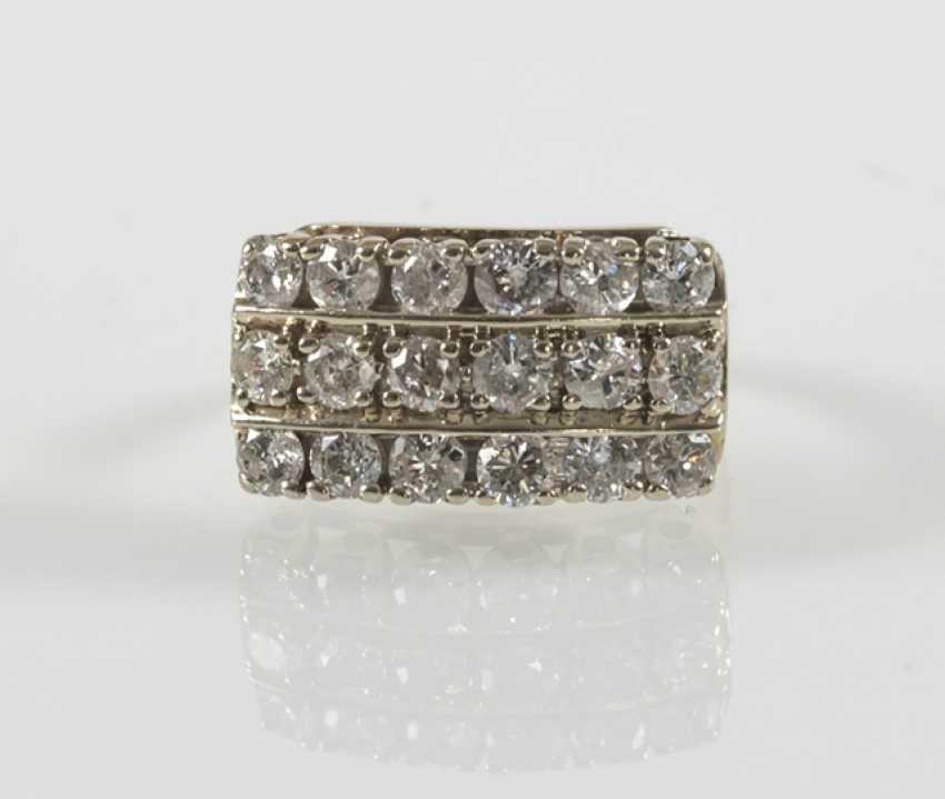 Diamond ring, 14Kt Gg-Rail - photo 2