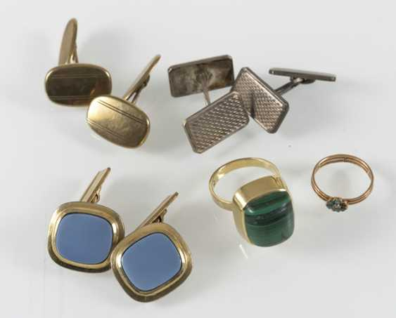 3 Pairs Of Cuffs, Gg/Metal, - photo 2