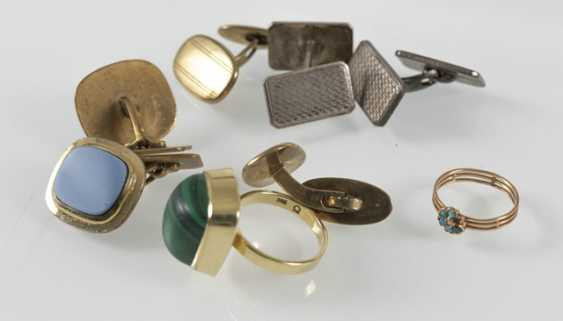 3 Pairs Of Cuffs, Gg/Metal, - photo 3