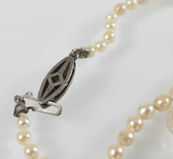 Freshwater Cultured Pearl Necklace, - photo 4
