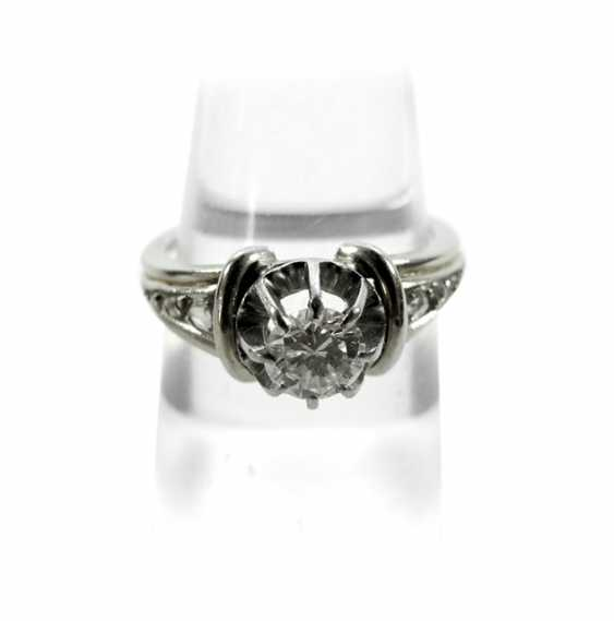 Diamond ring - photo 1