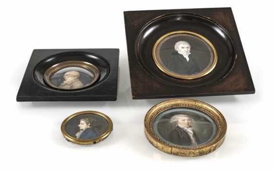 4 Miniatures, Lord Portraits - photo 1
