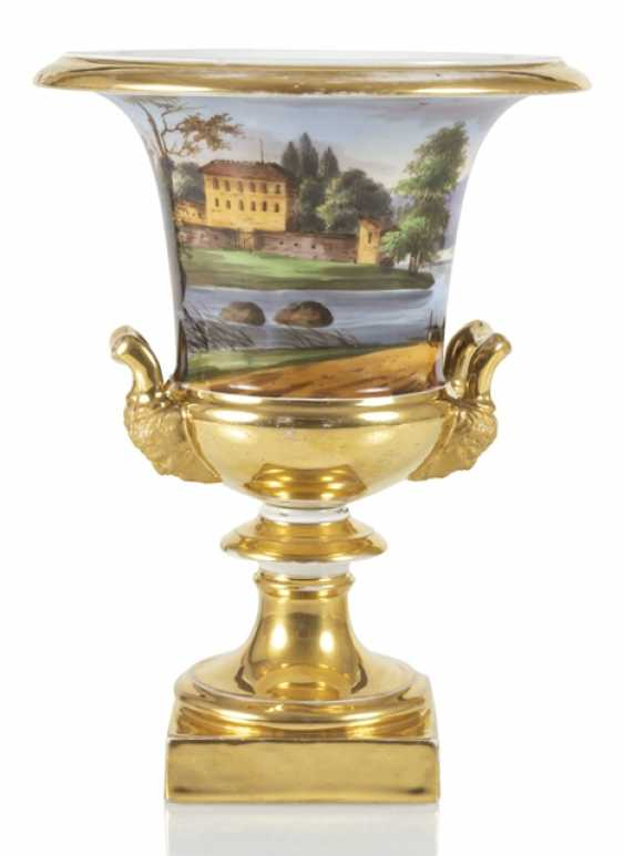 Biedermeier Vase With - photo 1