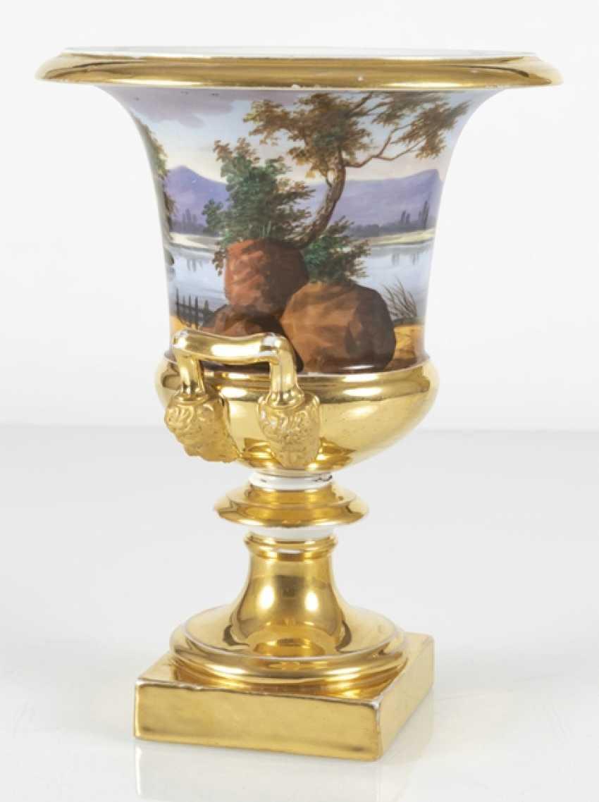 Biedermeier Vase With - photo 2