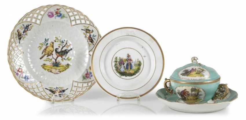 2 Plates, Kpm, 18./19. Century., - photo 1