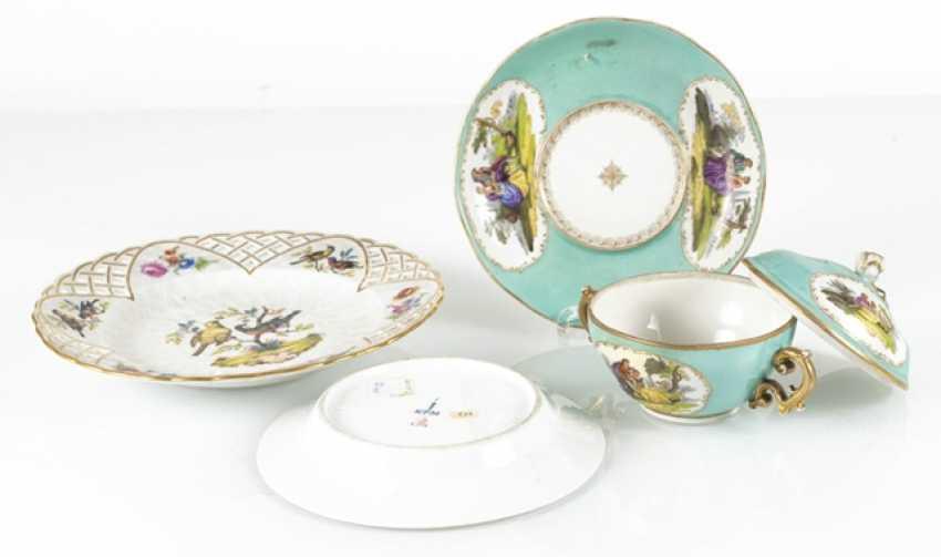 2 Plates, Kpm, 18./19. Century., - photo 2