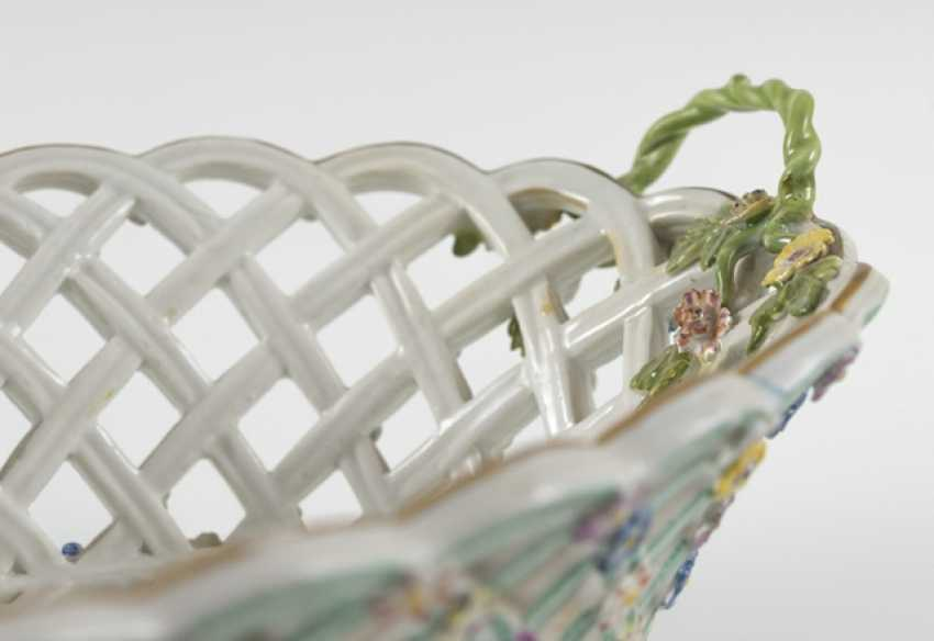 Decorative Basket, Meissen, Around 1760 - photo 2