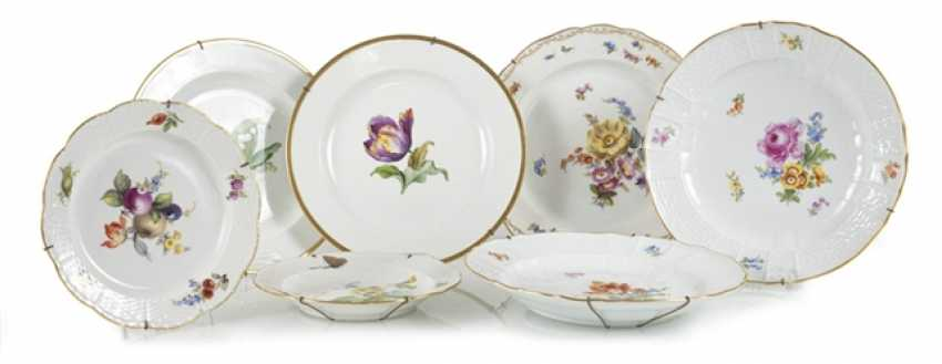 7 Plates, Mostly Meissen - photo 1