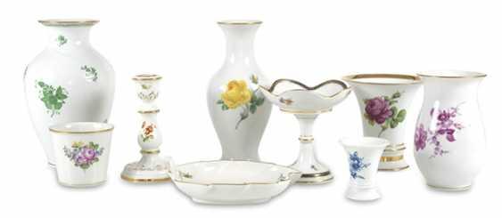 6 Vases, Candlesticks, 2 Bowls - photo 1