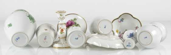 6 Vases, Candlesticks, 2 Bowls - photo 2
