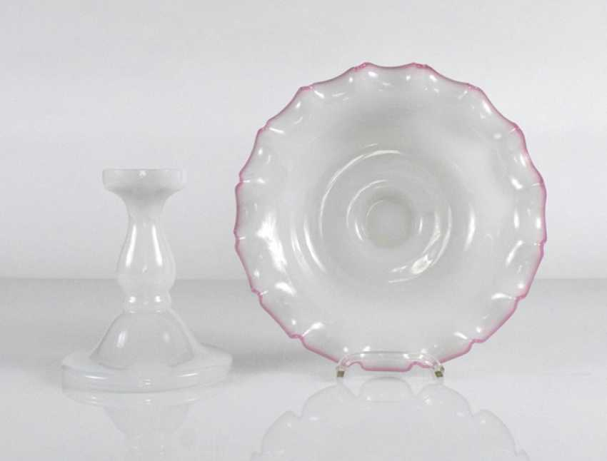 Essay Bowl, Alabaster Glass - photo 2