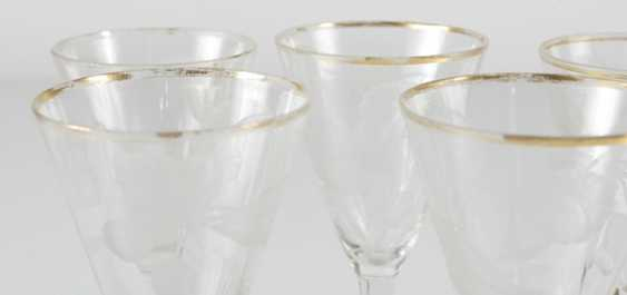 5 wine glasses - photo 2