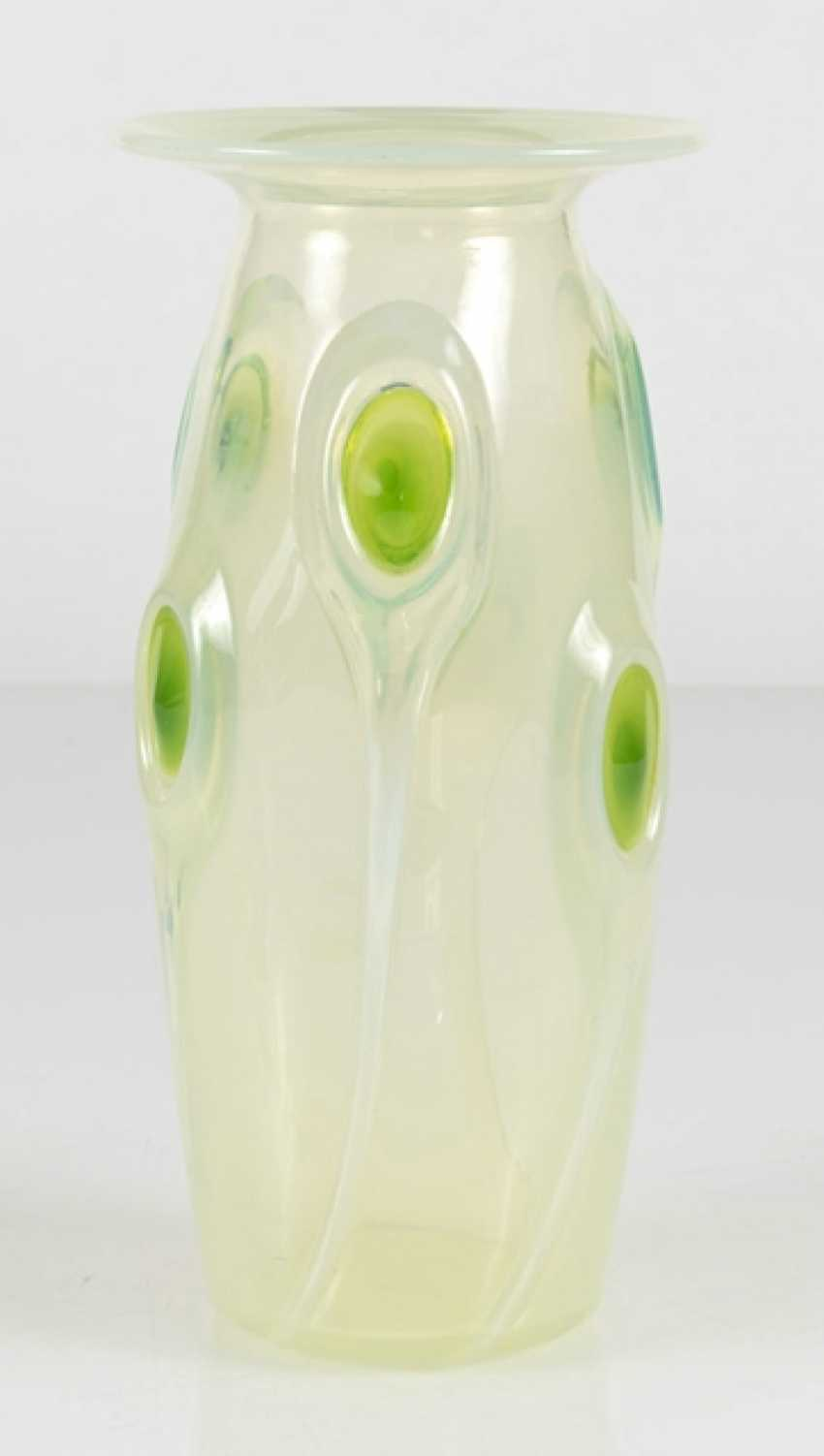 Vase With Peacock Eyes - photo 2