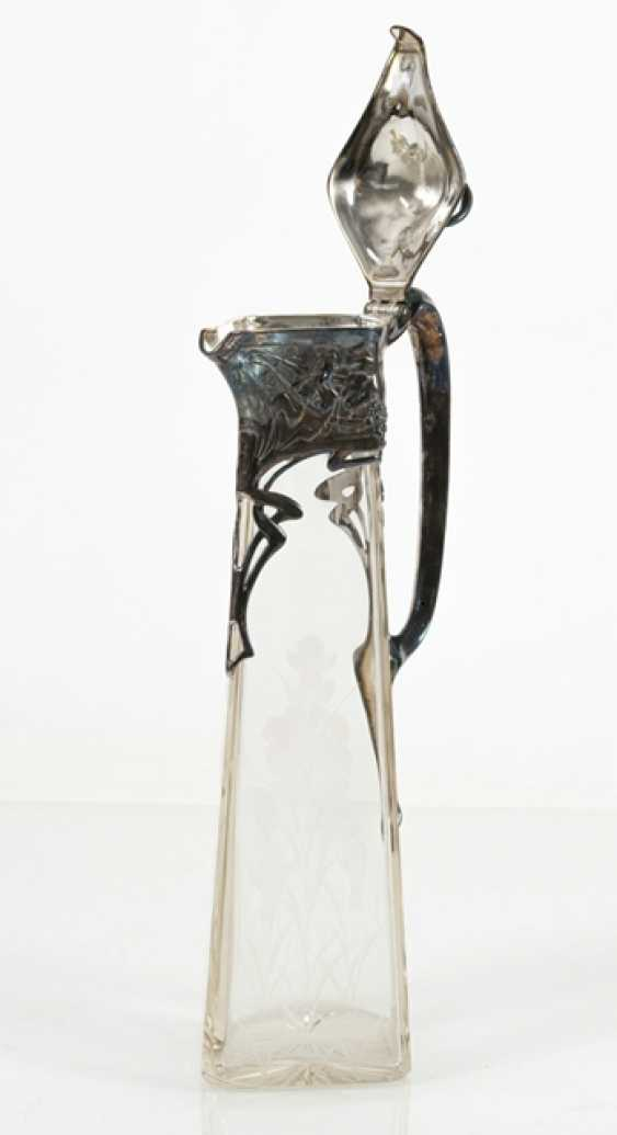 Carafe, Colorless Glass, - photo 3