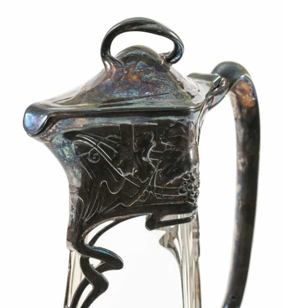 Carafe, Colorless Glass, - photo 4