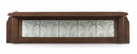 Art Nouveau-Board With 5 Tiles - photo 1
