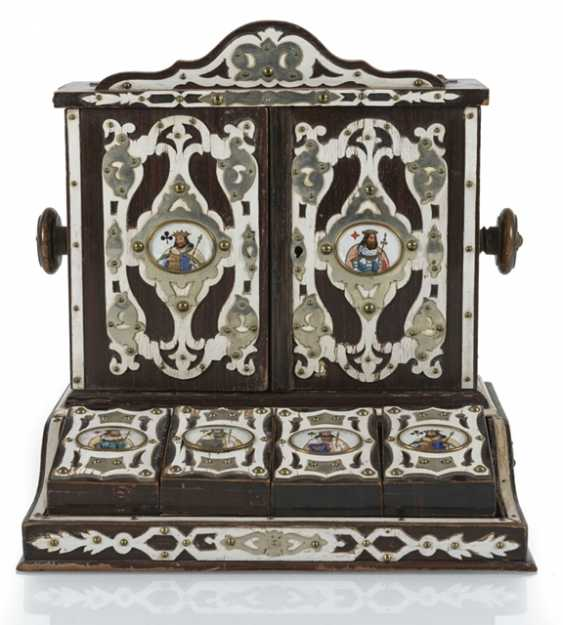 Card Game Box, Late 19th Century. Century. - photo 1