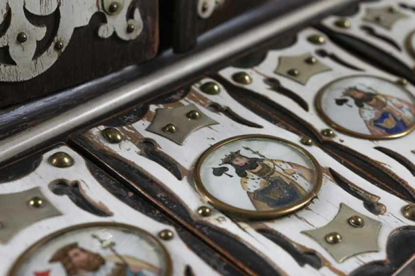 Card Game Box, Late 19th Century. Century. - photo 5
