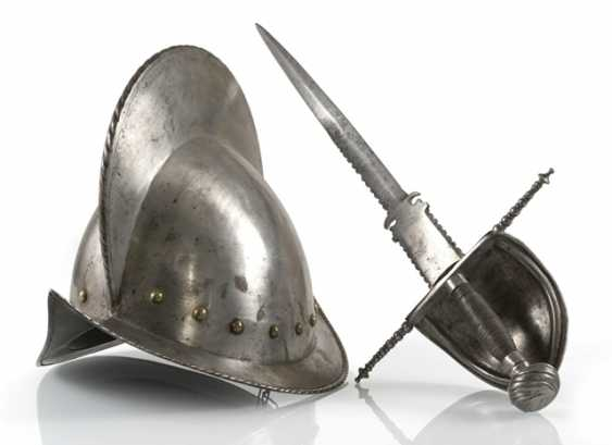 On The Left-Hand Dagger, And Morion - photo 1
