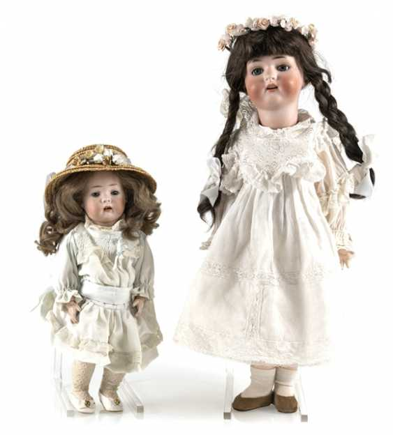 2 Porcelain Head Dolls - photo 1