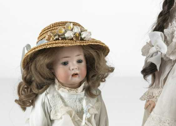 2 Porcelain Head Dolls - photo 2