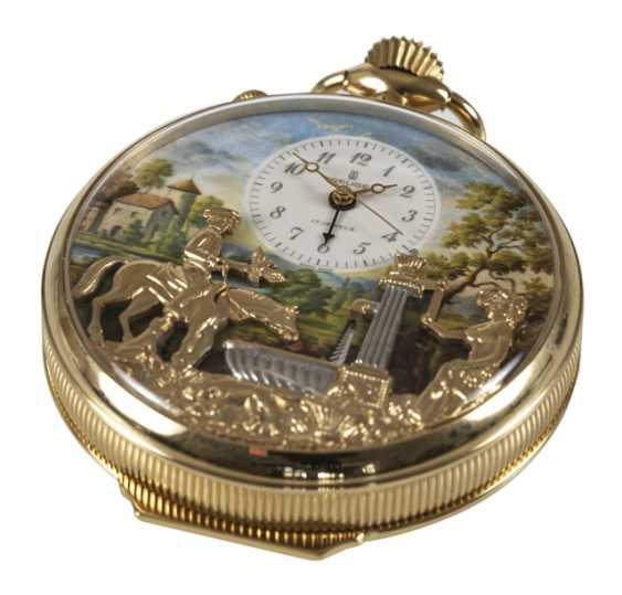 Pocket Watch With Automaton, - photo 1