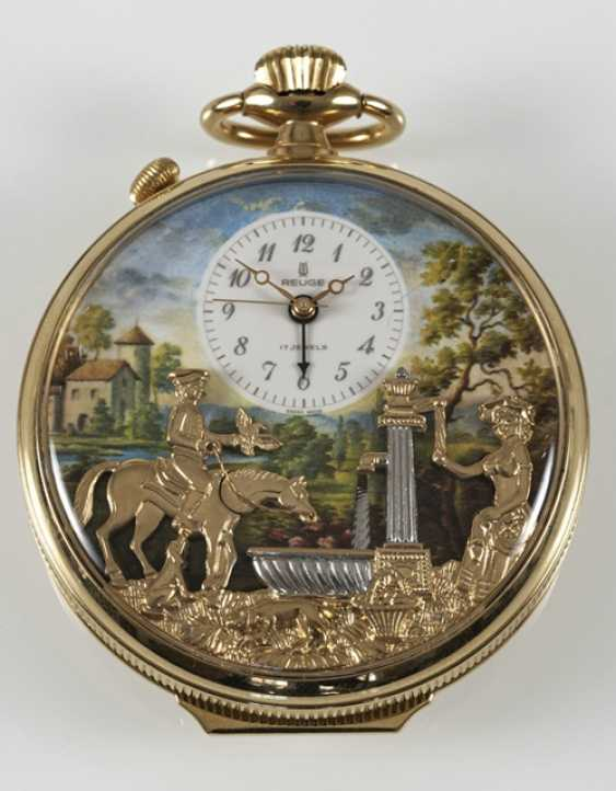 Pocket Watch With Automaton, - photo 2