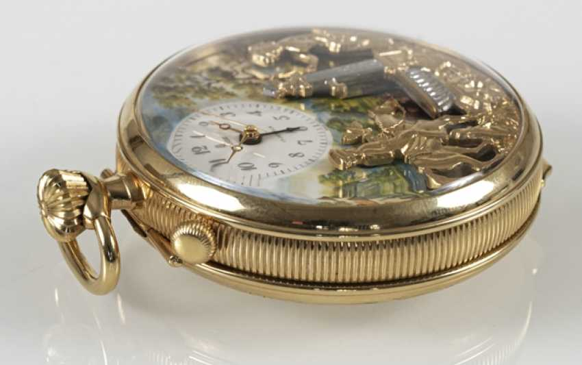 Pocket Watch With Automaton, - photo 3