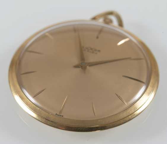 Pocket Watch, Luxor, Yellow Gold, - photo 2