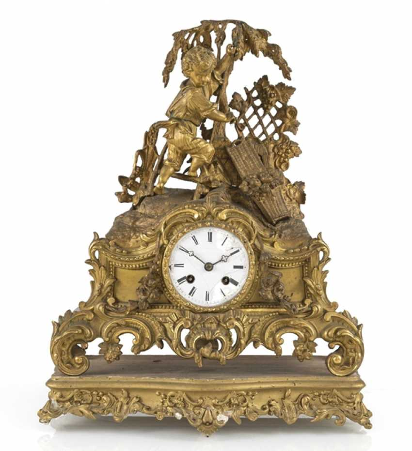 Mantel clock, 19th century. Century - photo 1
