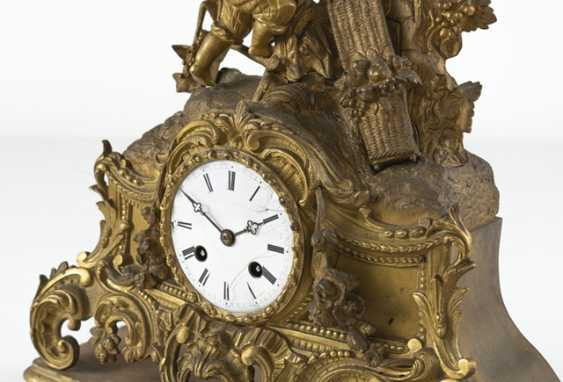 Mantel clock, 19th century. Century - photo 2