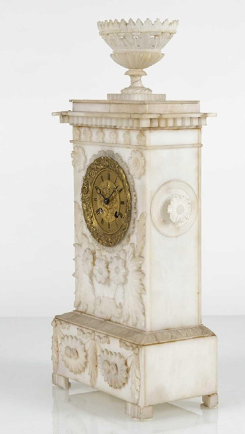 Pendule, L'Albâtre, Le 19. Siècle - photo 2
