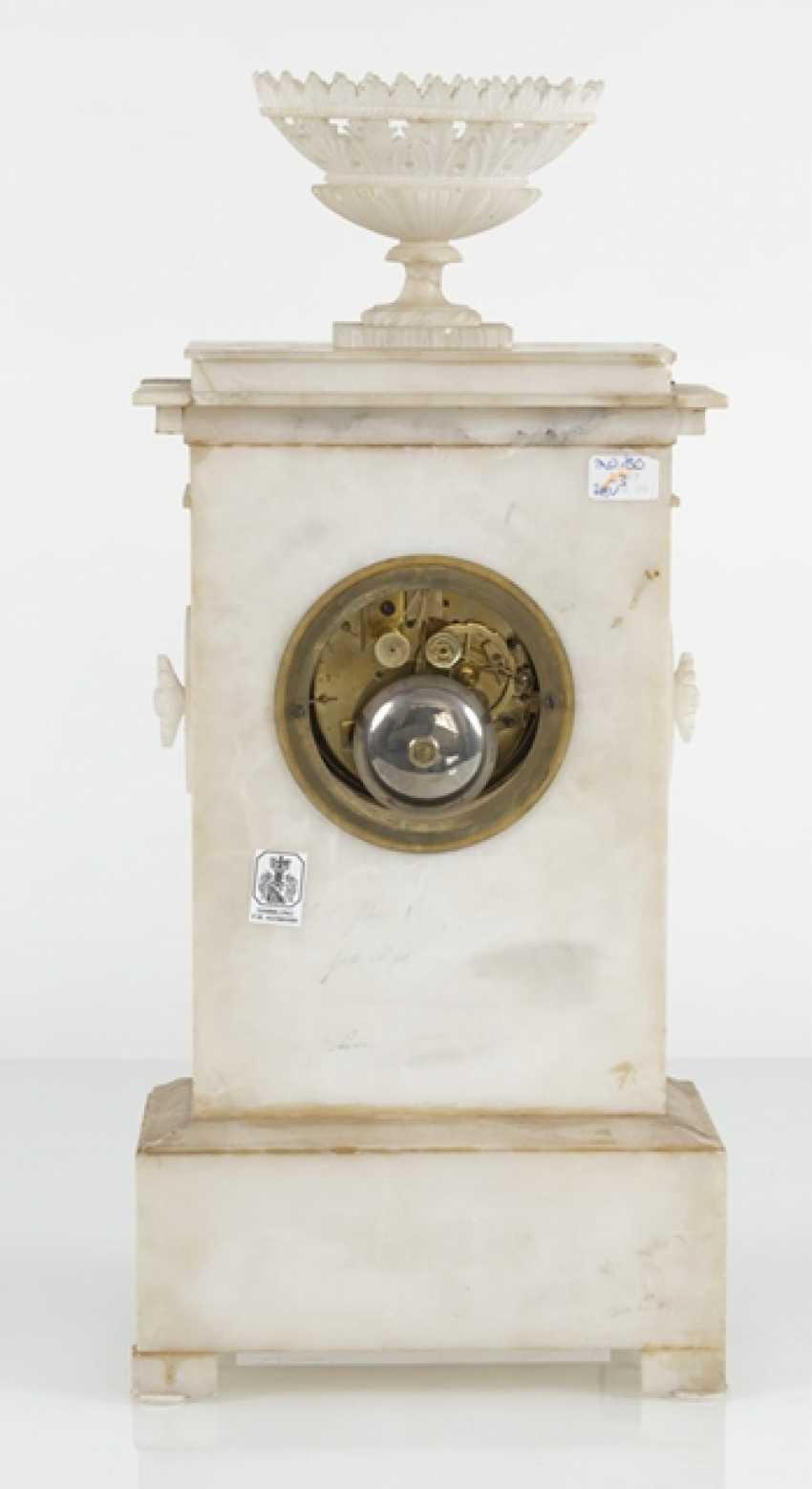 Pendule, Alabaster, 19. Century - photo 4