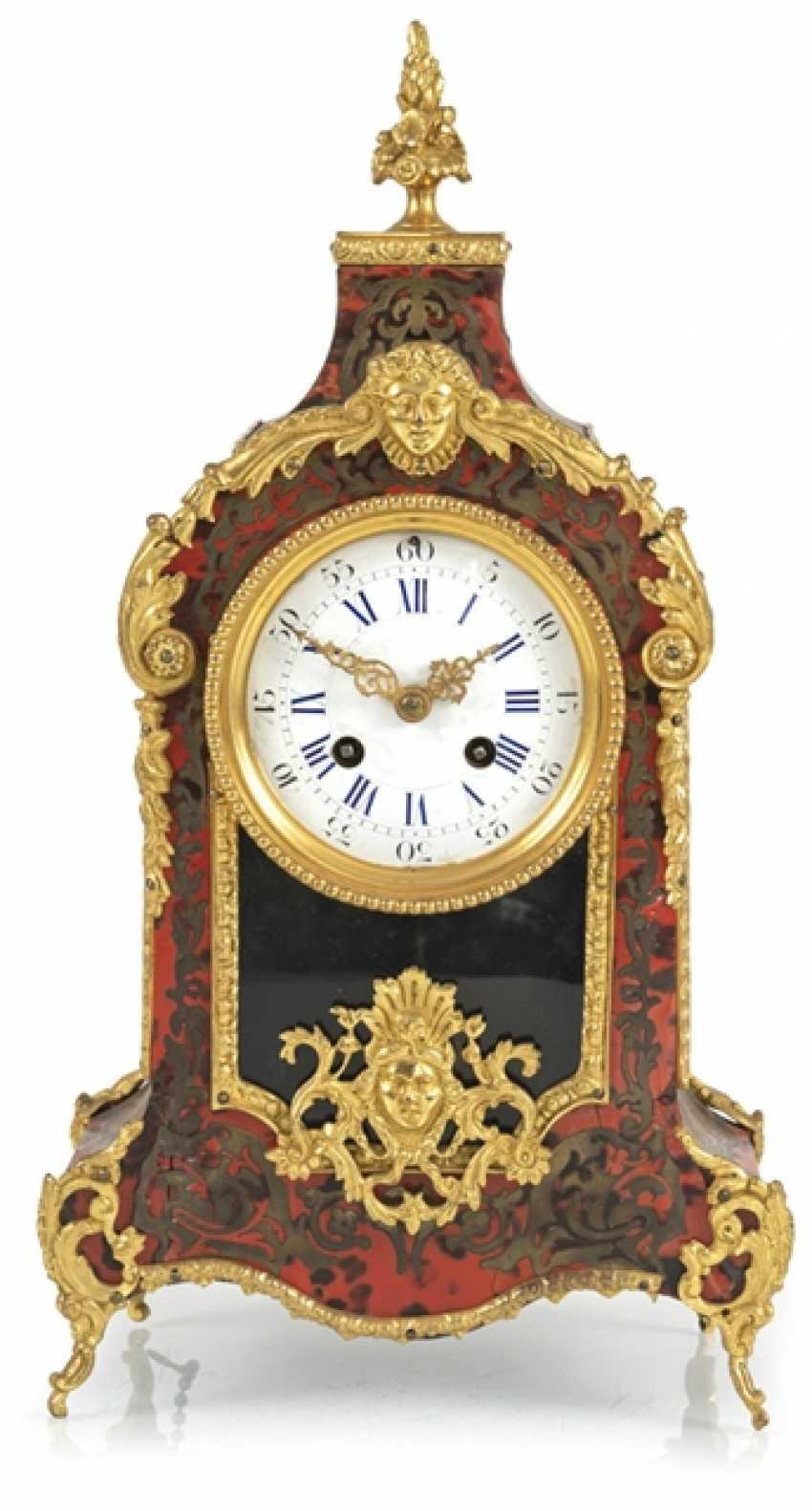 Small Pendulum Clock, Boulle Style - photo 1