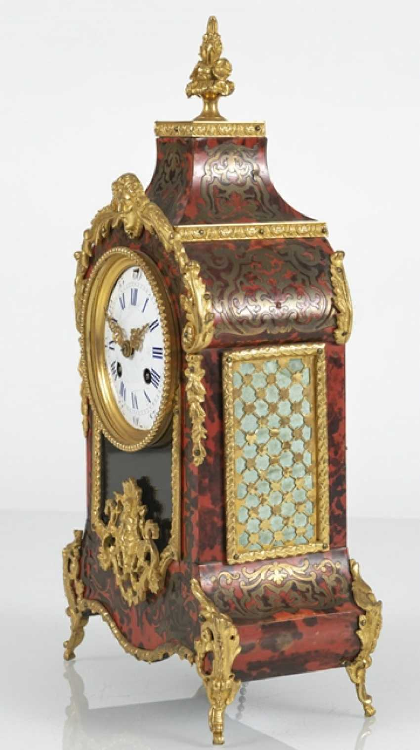 Small Pendulum Clock, Boulle Style - photo 2
