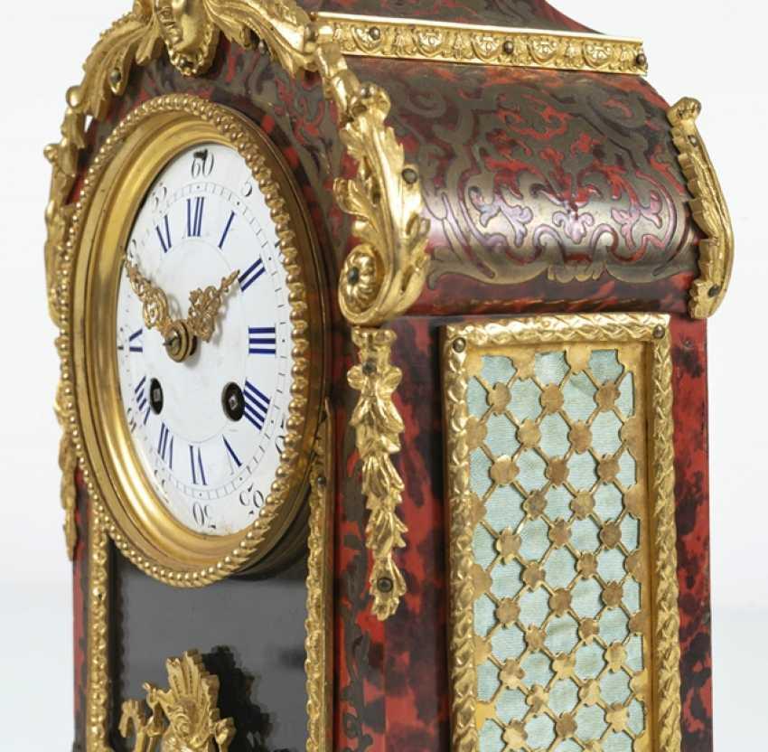 Small Pendulum Clock, Boulle Style - photo 3