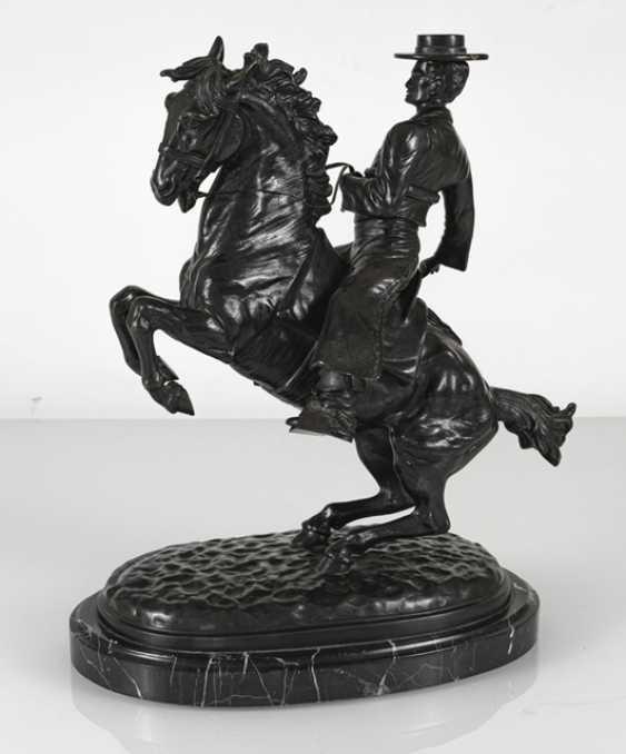 """""""Spanish Rider"""", Bronze, - photo 2"""
