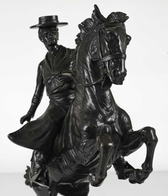 """""""Spanish Rider"""", Bronze, - photo 4"""