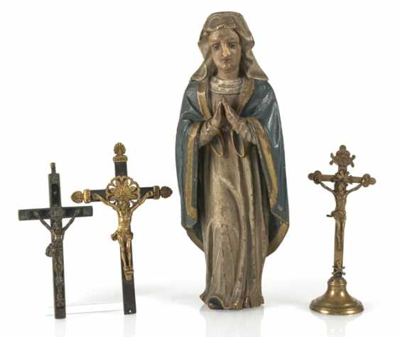Grieving Mary, And Three - photo 1