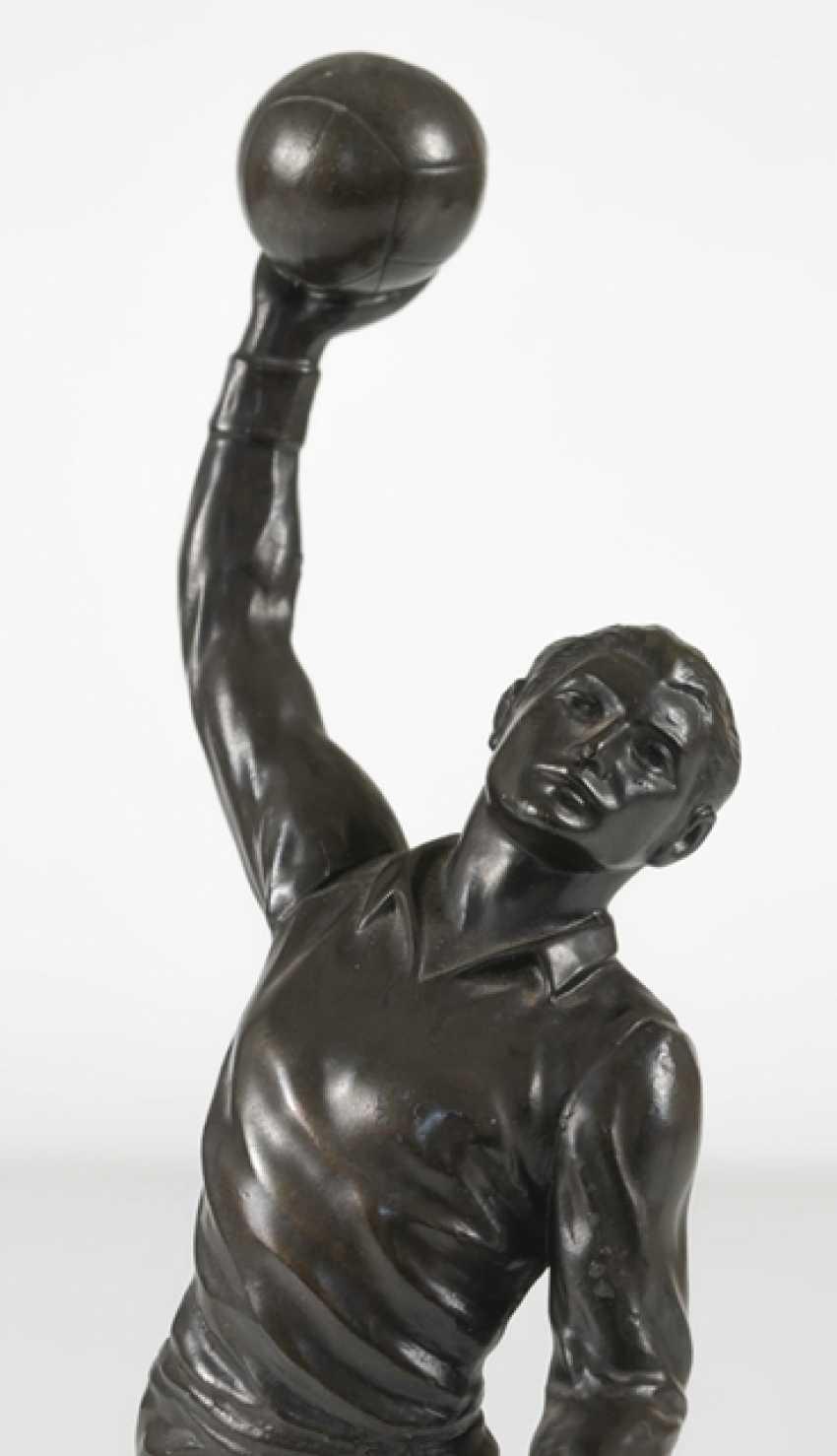 Handballspieler, Wohl 1920Er - Foto 3