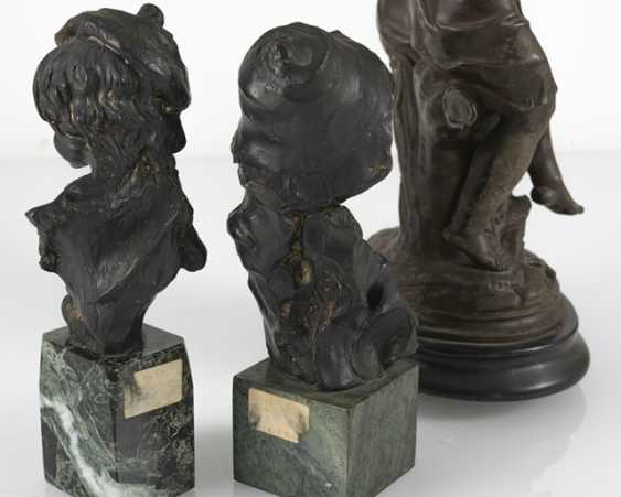 Children Couple, 2 Girl Busts, - photo 4