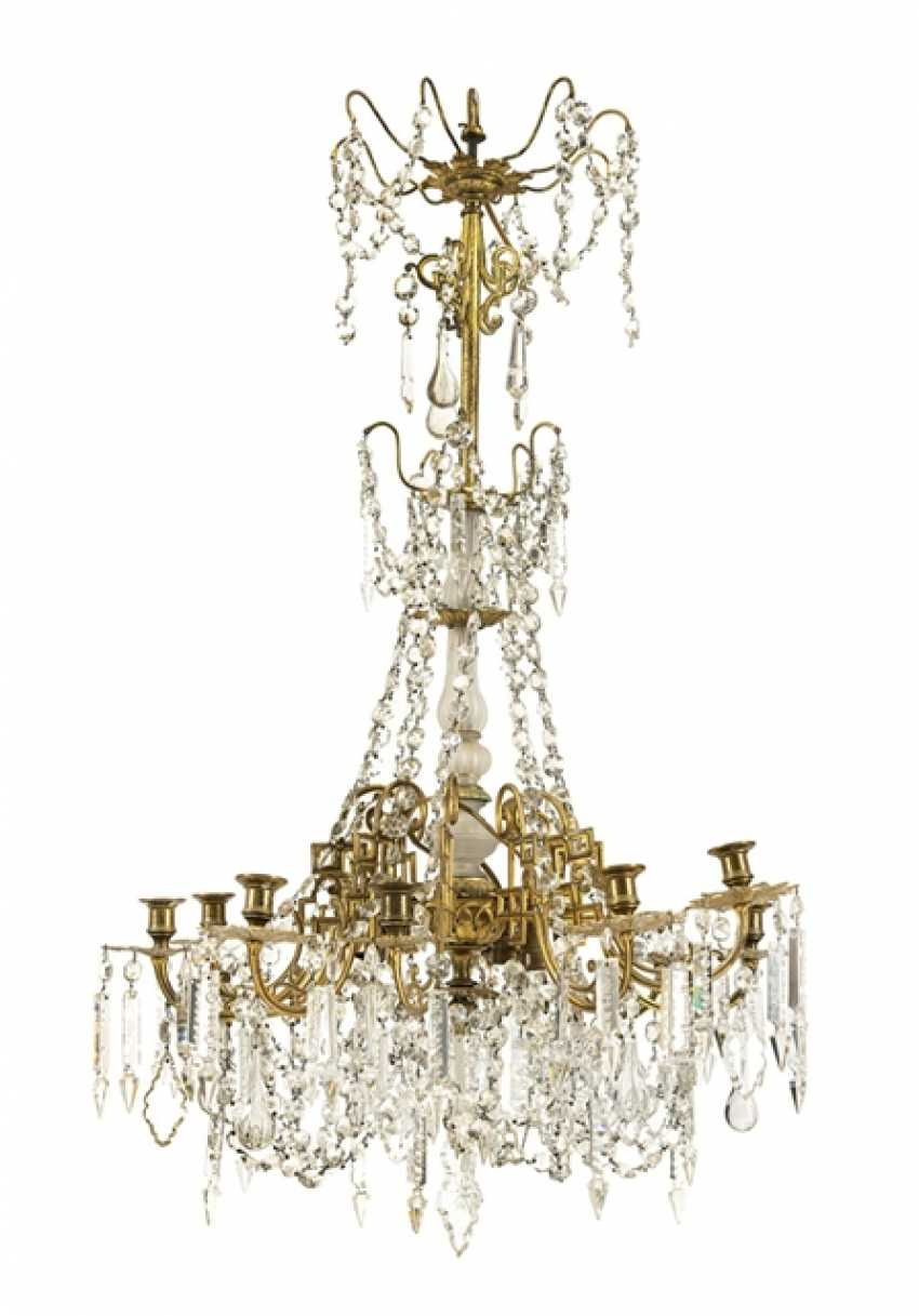 Ceiling Chandeliers, End Of The 19th Century. Year - photo 1