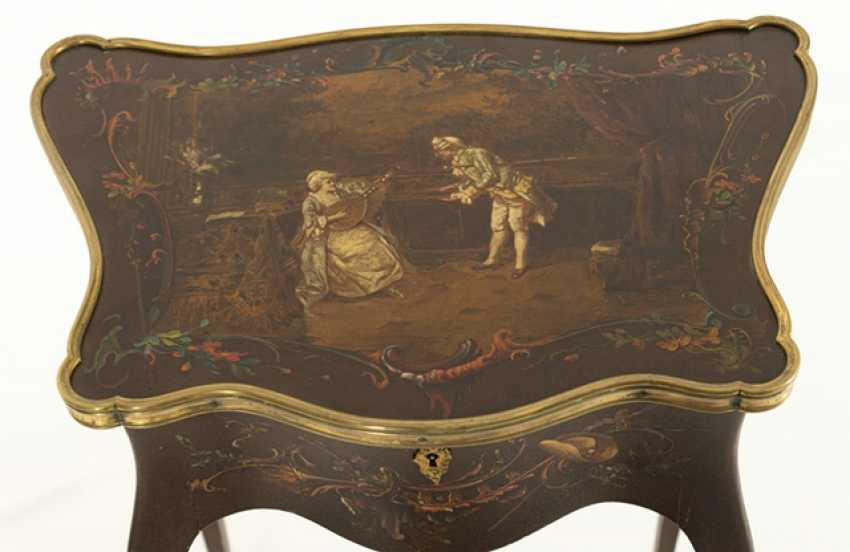 Salon Dissecting Table, Louis Xv Style - photo 2