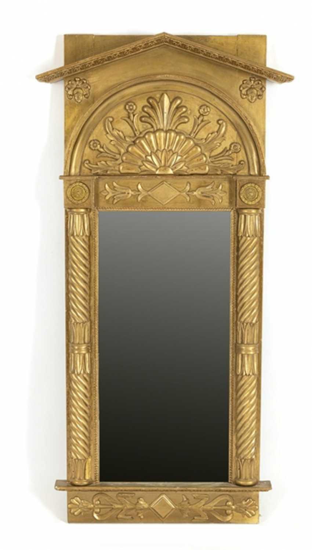 Klassizistischer Spiegel, - Foto 1