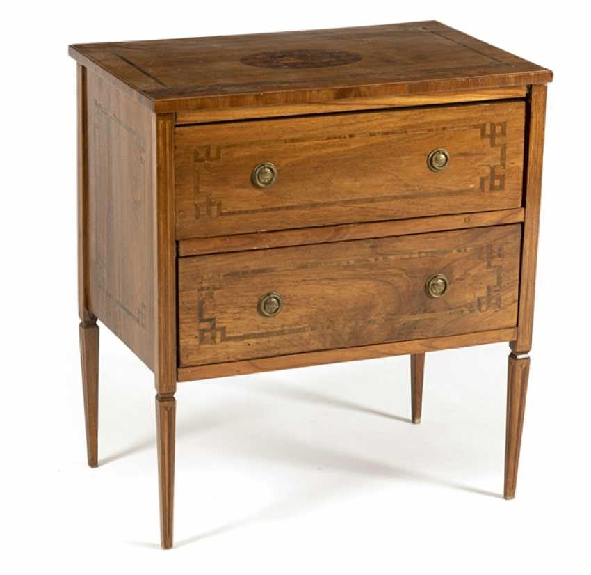 Small Louis Xvi Chest Of Drawers - photo 1