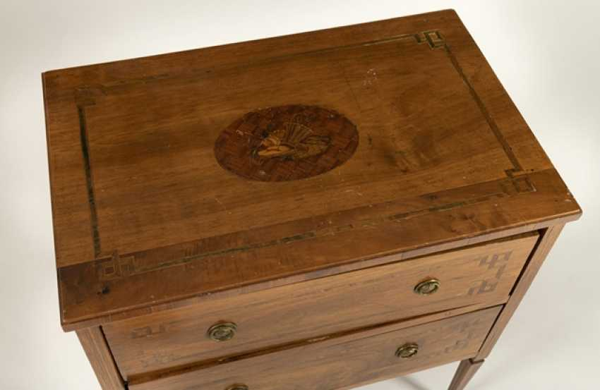 Small Louis Xvi Chest Of Drawers - photo 2