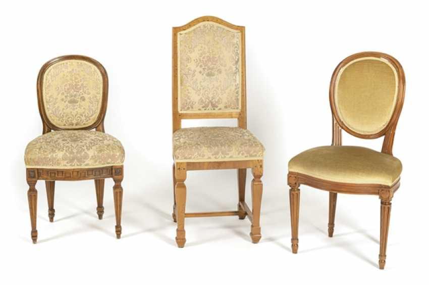 2 Louis Xvi Chairs,Baroque Chair - photo 1